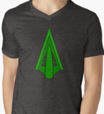 Green Arrow Men's V-Neck T-Shirt