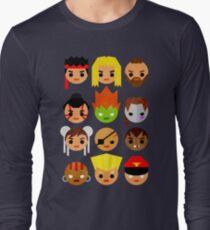 Street Fighter 2 Mini Long Sleeve T-Shirt