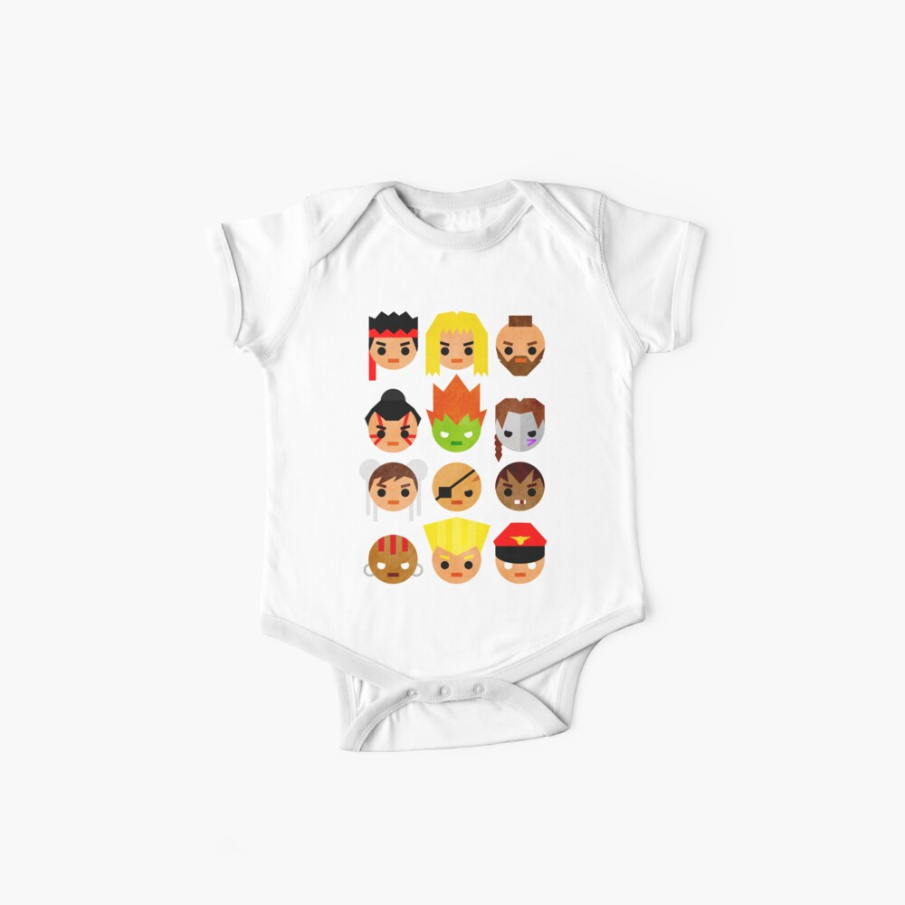 Street Fighter 2 Mini Baby One-Piece