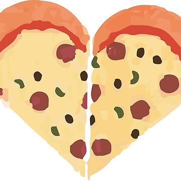 Pizza Love by daniellekenedy