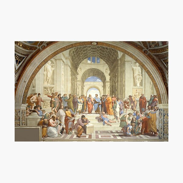 The School of Athens, Raphael Masterpiece Photographic Print