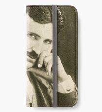 Nikola Tesla, Serbian-American Inventor iPhone Wallet/Case/Skin