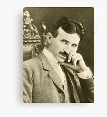 Nikola Tesla, Serbian-American Inventor Canvas Print