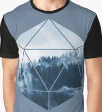 D20 - Misty Treetops Graphic T-Shirt