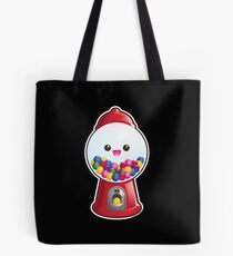 Kawaii Gum Ball Machine Tote Bag