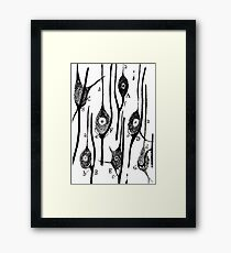 Neural Connections Illustrated by Cajal, 1923  Framed Print