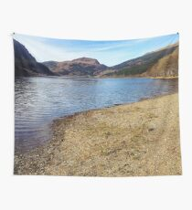 Scottish Lochs and Mountains Wall Tapestry