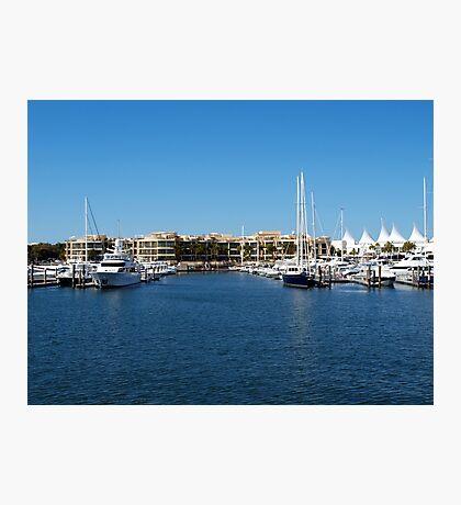 Mariner's Cove Marina Photographic Print