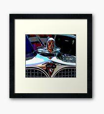 Pontiac Indian Chief Hood Ornament Framed Print