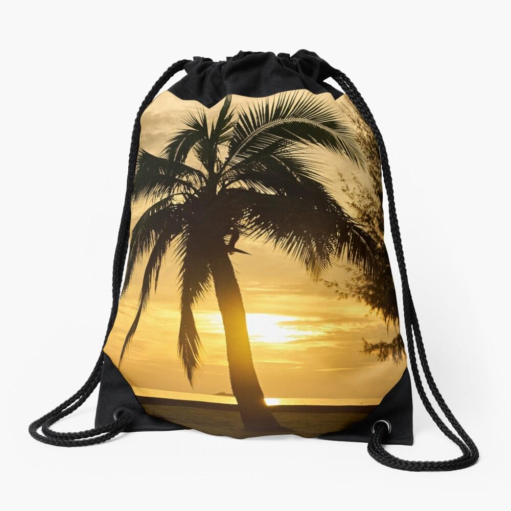 Dawn in the Bahamas Drawstring Bag