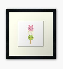 Dango~~ Framed Print