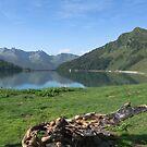 lake ritom by paolo amiotti