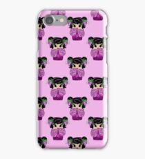 Grape Kokeshi Pattern iPhone Case/Skin