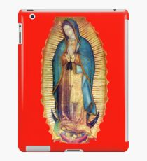 Our Lady of Guadalupe Virgin Mary Tilma Red iPad Case/Skin