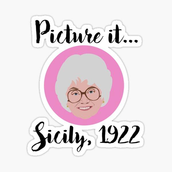 Picture it Sticker