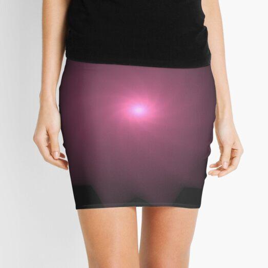God Made You | Fractal Art Mini Skirt