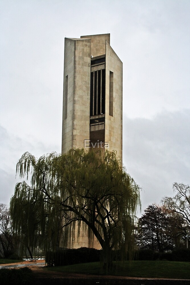 National Carillon-Canberra by Evita