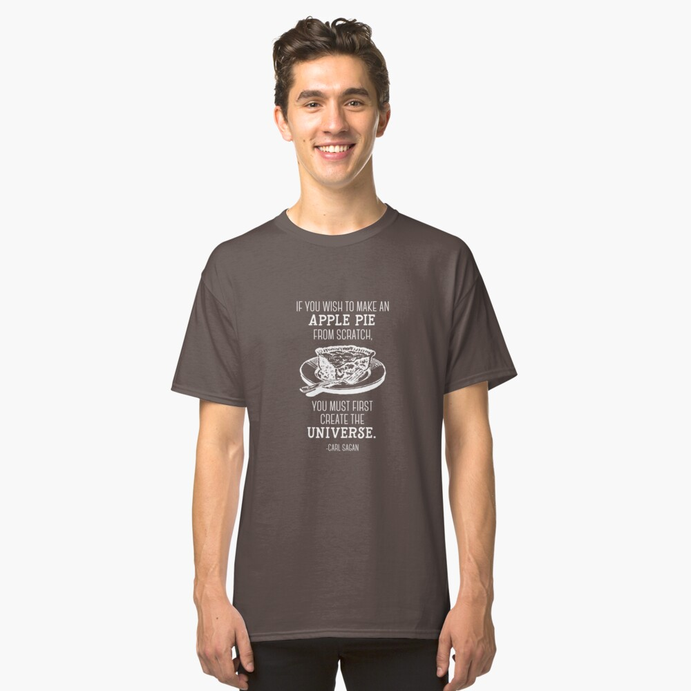 The science of apple pie Classic T-Shirt