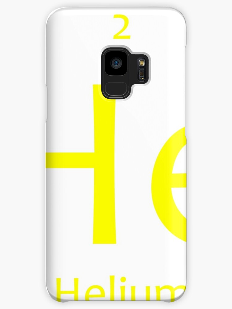 Helium He Chemical Symbol Cases Skins For Samsung Galaxy By The