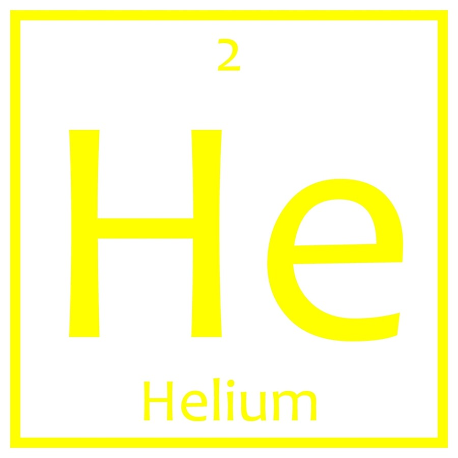 Helium he chemical symbol art boards by the elements redbubble helium he chemical symbol buycottarizona