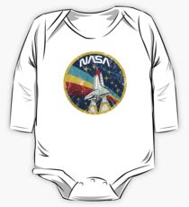 Nasa Vintage Colors V01 One Piece - Long Sleeve
