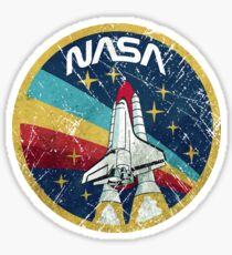Nasa Vintage Colors V01 Sticker