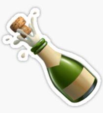 Champagne Emoji Sticker