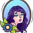 Flower Lady by LabRatBiatch