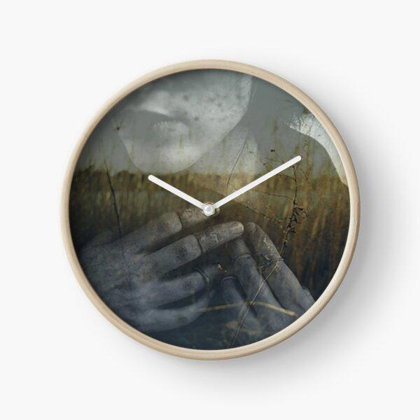 Whisper Weeds Clock