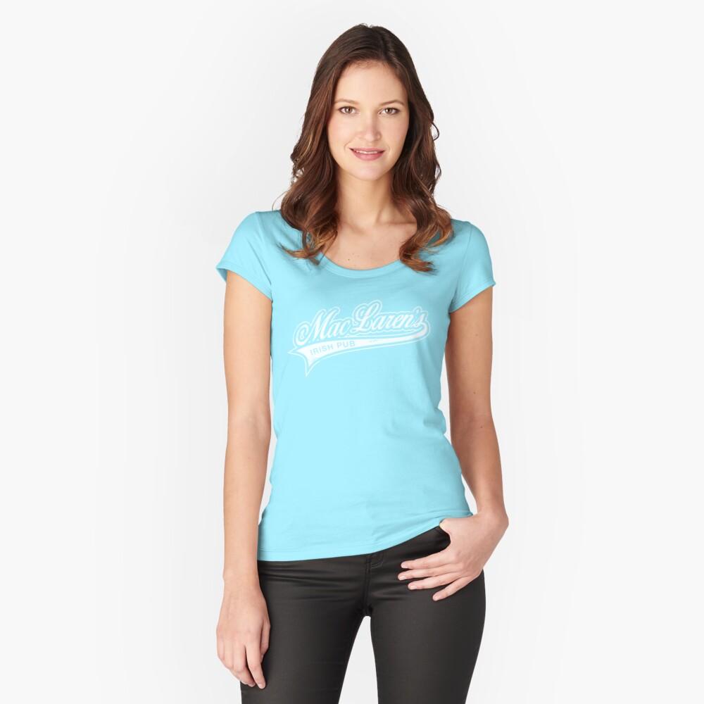 MacLaren's Pub Fitted Scoop T-Shirt