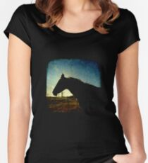 Urban Cowboy - TTV Women's Fitted Scoop T-Shirt