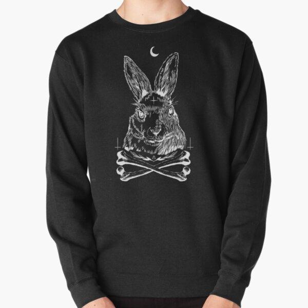 Dark Rabbit Pullover Sweatshirt