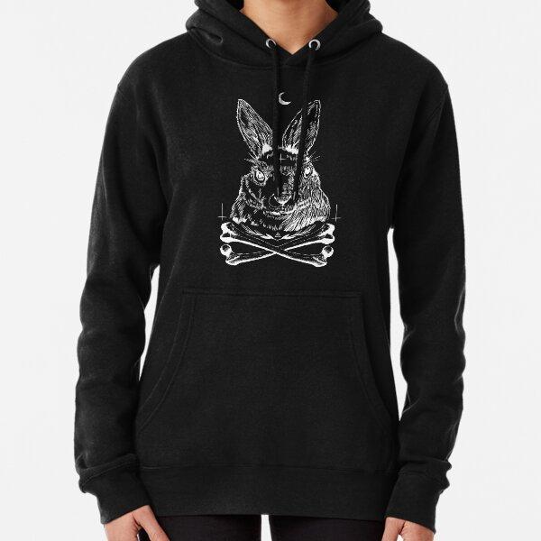 Dark Rabbit Pullover Hoodie