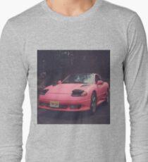 Pink Season - Pink Car Long Sleeve T-Shirt