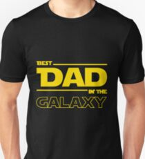 d145fb2d Best Dad In The Galaxy Slim Fit T-Shirt
