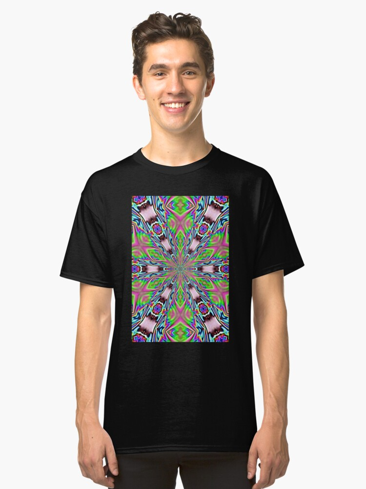 psychedelic radiance totem Classic T-Shirt Front