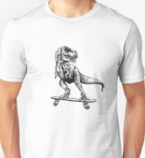 T-Rex Do Skate Unisex T-Shirt
