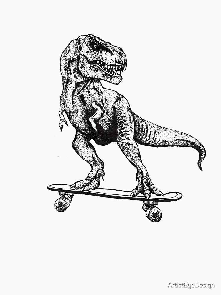 T-Rex Do Skate by ArtistEyeDesign