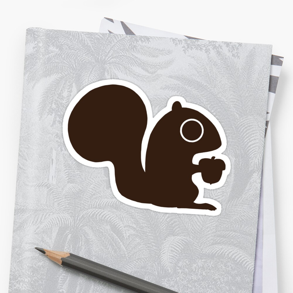 Squirrel with Nut by Jenn Inashvili
