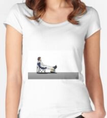 Formula 1 - Fernando Alonso deckchair Women's Fitted Scoop T-Shirt