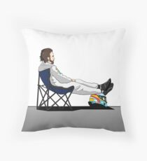 Formula 1 - Fernando Alonso deckchair Throw Pillow