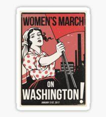 Womens March on Washington 2 (Vector Recreation) Sticker
