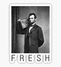 Lincoln fresh Sticker