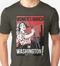 Womens March on Washington 2 (Vector Recreation) Unisex T-Shirt