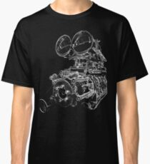 """Shottie"" - Supercharged V8 Engine Classic T-Shirt"