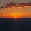 Sunset at Hopi Point  by John  Kapusta