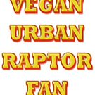 VEGAN URBAN RAPTOR FAN by scholara