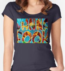 Wanna Fook? - Broad City Women's Fitted Scoop T-Shirt
