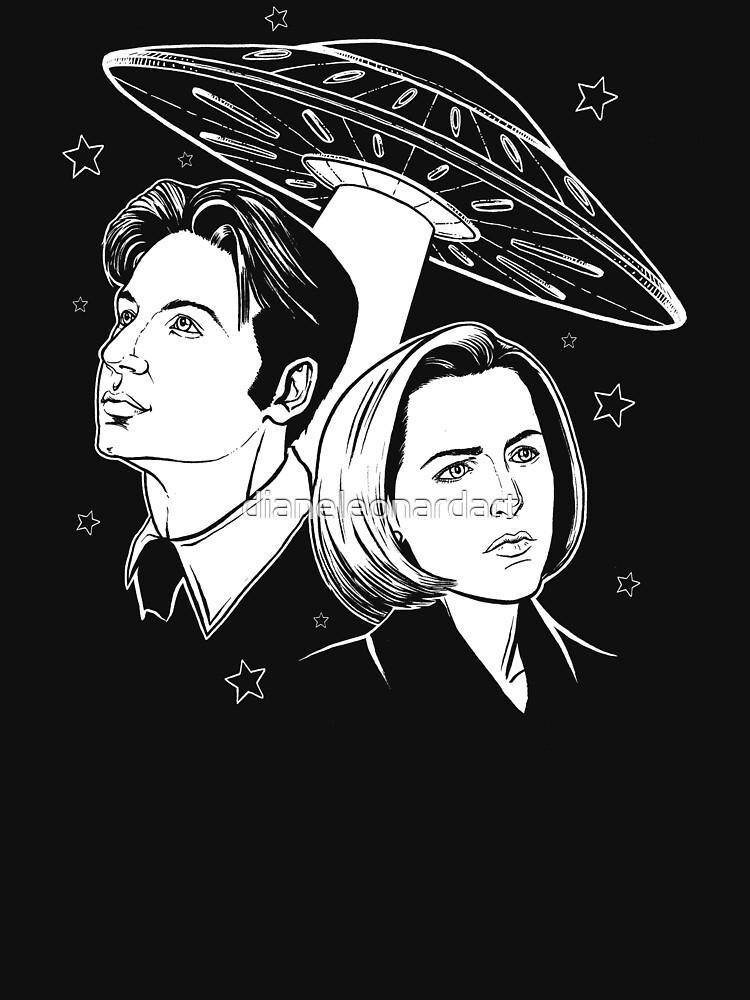 X-Files by dianeleonardart