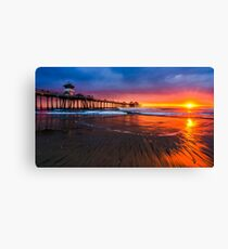 Huntington Beach Canvas Print
